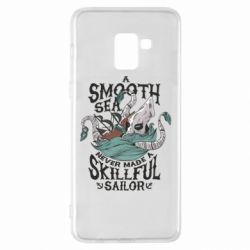 Чохол для Samsung A8+ 2018 Морське чудовисько Кракен