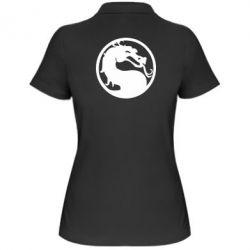 Женская футболка поло Mortal Combat - FatLine