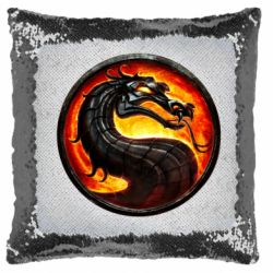 Подушка-хамелеон Mortal Combat