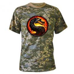 Камуфляжная футболка Mortal Combat - FatLine