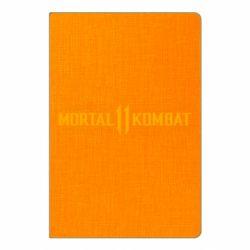 Блокнот А5 Mortal kombat 11 logo