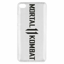 Чехол для Xiaomi Mi 5s Mortal kombat 11 logo