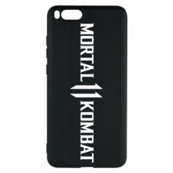 Чехол для Xiaomi Mi Note 3 Mortal kombat 11 logo