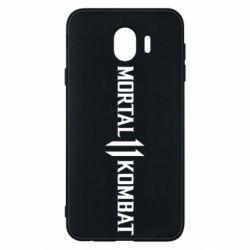 Чехол для Samsung J4 Mortal kombat 11 logo