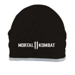 Шапка Mortal kombat 11 logo