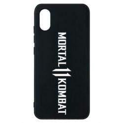Чехол для Xiaomi Mi8 Pro Mortal kombat 11 logo