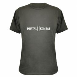 Камуфляжная футболка Mortal kombat 11 logo