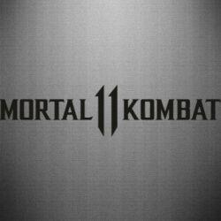 Наклейка Mortal kombat 11 logo