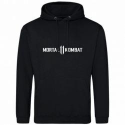 Мужская толстовка Mortal kombat 11 logo