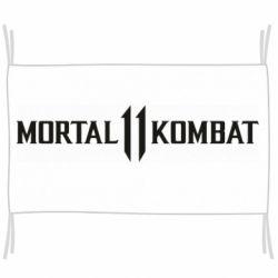 Флаг Mortal kombat 11 logo