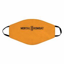 Маска для лица Mortal kombat 11 logo