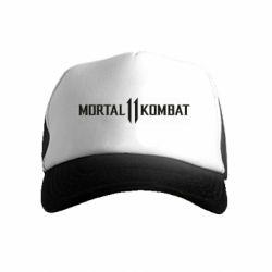 Дитяча кепка-тракер Mortal kombat 11 logo