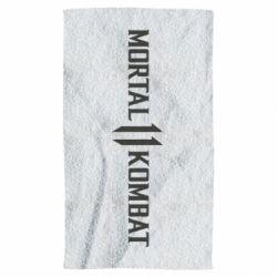 Полотенце Mortal kombat 11 logo