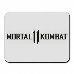 Килимок для миші Mortal kombat 11 logo