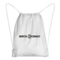 Рюкзак-мішок Mortal kombat 11 logo