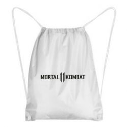 Рюкзак-мешок Mortal kombat 11 logo