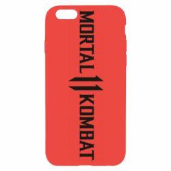 Чехол для iPhone 6/6S Mortal kombat 11 logo