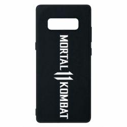 Чехол для Samsung Note 8 Mortal kombat 11 logo