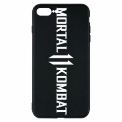 Чехол для iPhone 8 Plus Mortal kombat 11 logo