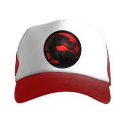 Кепка-тракер Mortal Kombat Logo