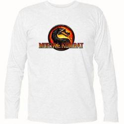 Купить Футболка с длинным рукавом Mortal Kombat, FatLine