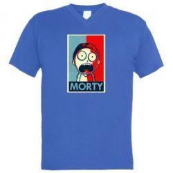 Чоловіча футболка з V-подібним вирізом Morti