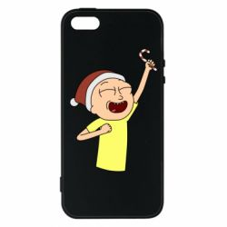 Чехол для iPhone5/5S/SE Morty with Christmas candy