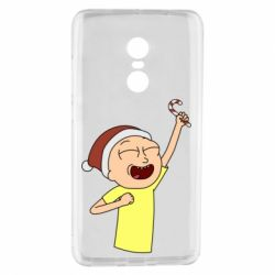Чехол для Xiaomi Redmi Note 4 Morty with Christmas candy