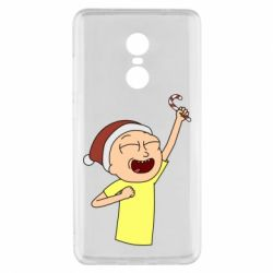 Чехол для Xiaomi Redmi Note 4x Morty with Christmas candy