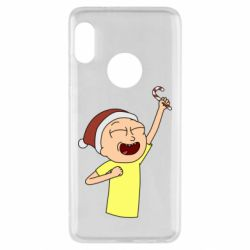 Чехол для Xiaomi Redmi Note 5 Morty with Christmas candy
