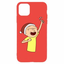 Чехол для iPhone 11 Pro Max Morty with Christmas candy