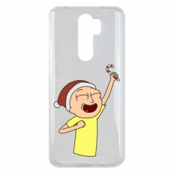 Чехол для Xiaomi Redmi Note 8 Pro Morty with Christmas candy