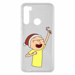 Чехол для Xiaomi Redmi Note 8 Morty with Christmas candy