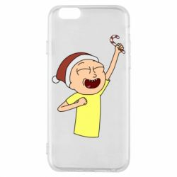 Чехол для iPhone 6/6S Morty with Christmas candy