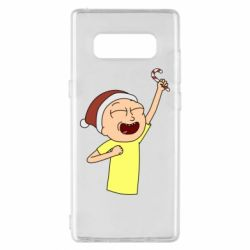Чехол для Samsung Note 8 Morty with Christmas candy