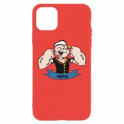 Чехол для iPhone 11 Моряк Папай