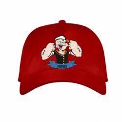 Детская кепка Моряк Папай - FatLine