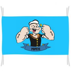 Флаг Моряк Папай