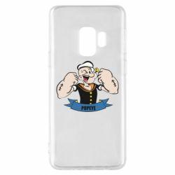 Чехол для Samsung S9 Моряк Папай