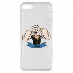 Чехол для iPhone5/5S/SE Моряк Папай