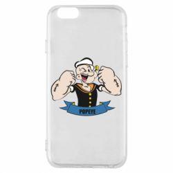 Чехол для iPhone 6/6S Моряк Папай