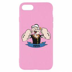 Чехол для iPhone 7 Моряк Папай