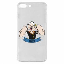 Чехол для iPhone 7 Plus Моряк Папай