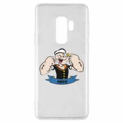 Чехол для Samsung S9+ Моряк Папай