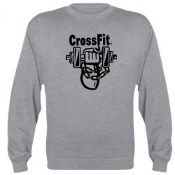 Реглан (свитшот) Мощный CrossFit - FatLine