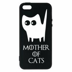 Купить Игра престолов, Чехол для iPhone5/5S/SE Mother of cats, FatLine