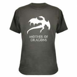 Камуфляжная футболка Mother of dragons 1