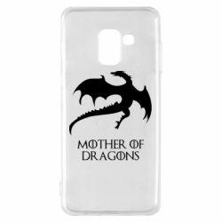 Чехол для Samsung A8 2018 Mother of dragons 1