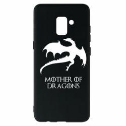 Чехол для Samsung A8+ 2018 Mother of dragons 1