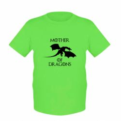 Детская футболка Mother Of Dragons - FatLine